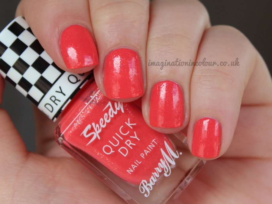 Barry M Speedy Turbo Charged Quick Dry