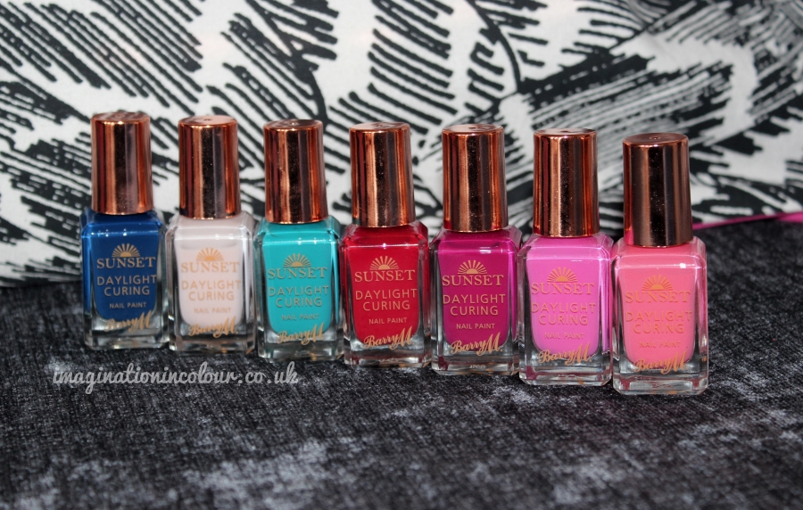 Barry M Sunset Collection Daylight Curing Nail Paint