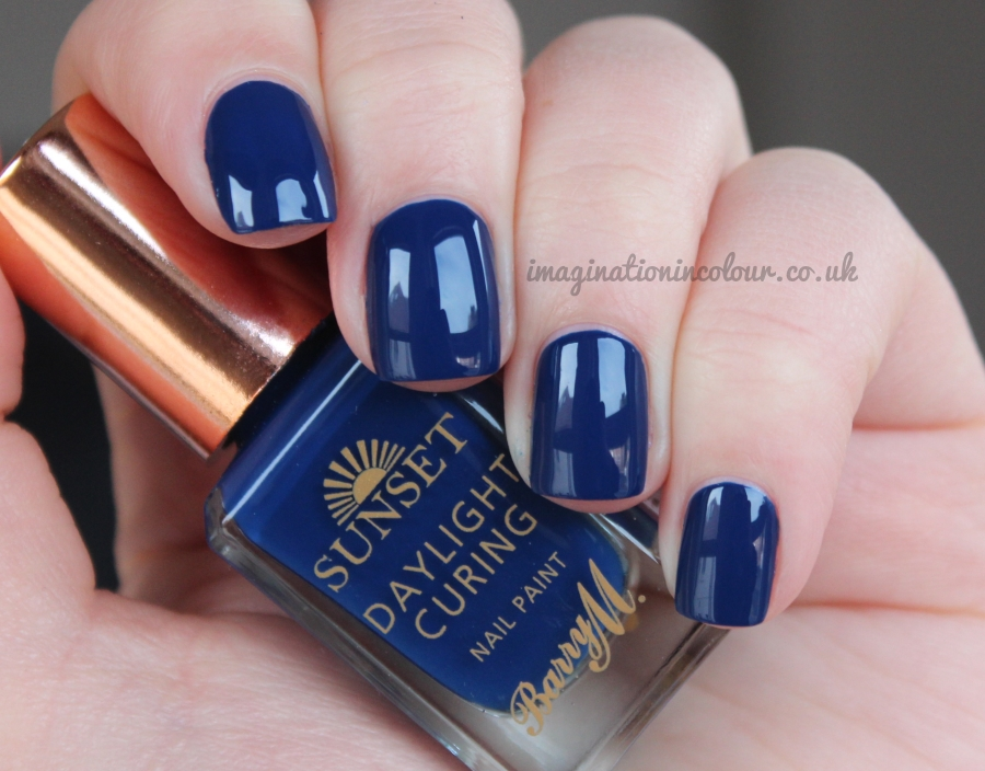 Barry M You Drive Me Navy Sunset Daylight Curing