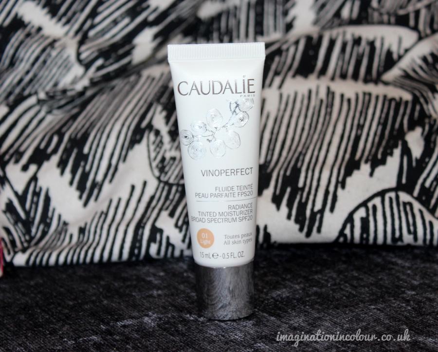 Caudelie Vinoperfect Radiance Tinted Moisturiser 01 Light