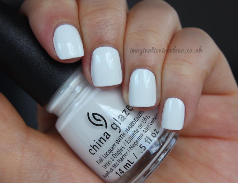China Glaze White On White