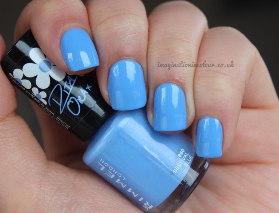 Rimmel London Rita Ora Bestival Blue