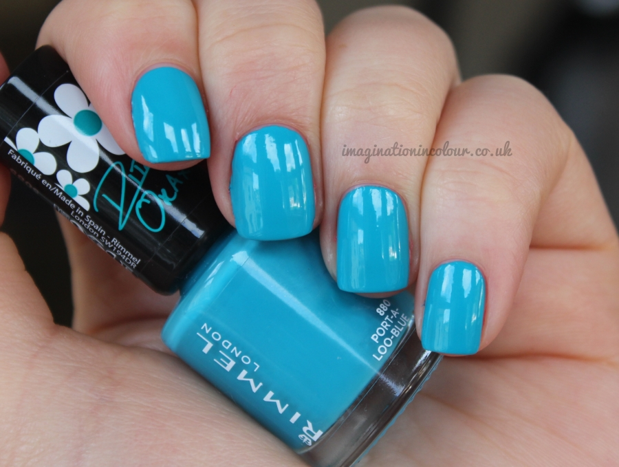 Rimmel London Rita Ora Port-A-Loo-Blue