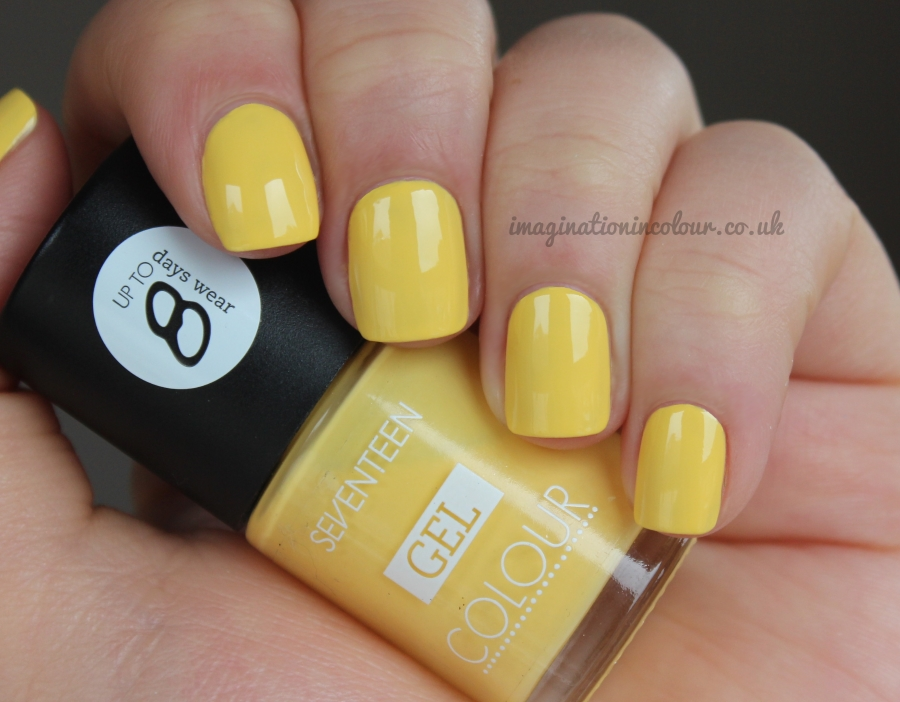 Seventeen Lemon Drop Gel Colour