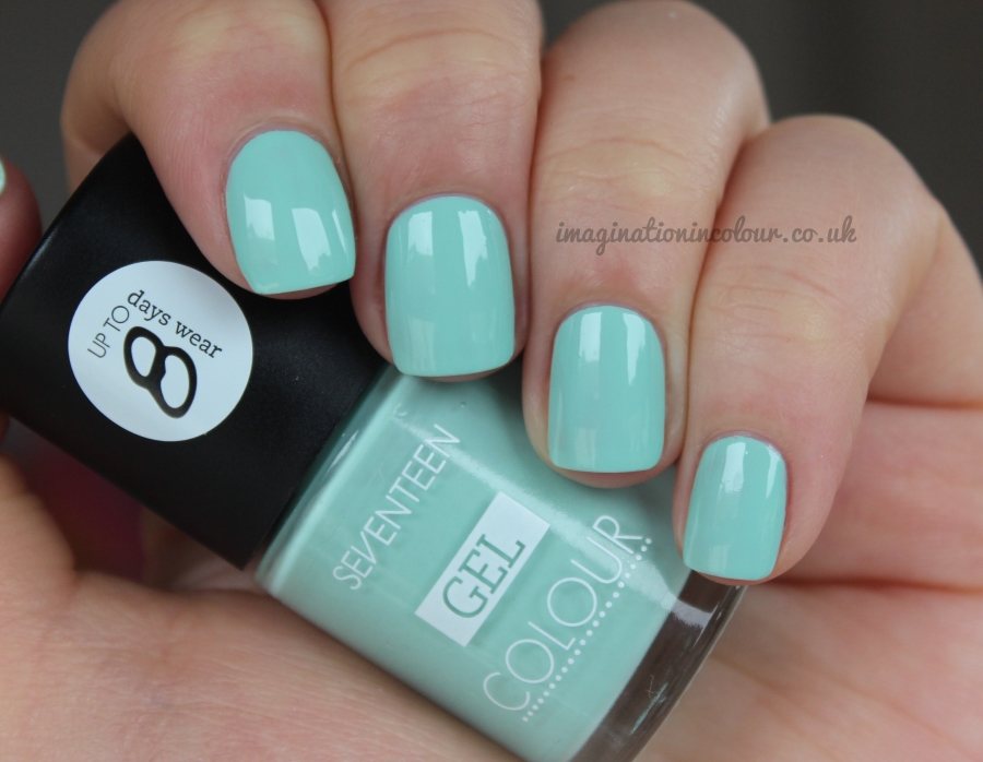 Seventeen Mint Cooler Gel Colour